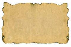 Natürliches altes gealtertes Papier Stockfotografie