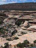 Natürliches Brückendenkmal Utah Stockbild