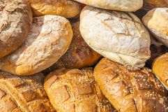 Natürliches Brot Lizenzfreies Stockbild