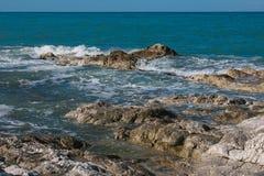 Natürliches Conero-Wasserparadies Stockfotografie