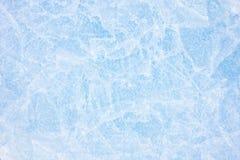 Natürliches Eis im Ob Fluss, Sibirien, Januar 2007 Lizenzfreie Stockfotografie