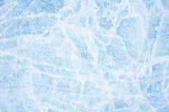 Natürliches Eis im Ob Fluss, Sibirien, Januar 2007 Stockfoto