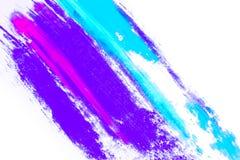 Natürliches farbiges Pigmentpulver stockfotos