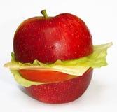 Natürliches gesundes Sandwich Lizenzfreies Stockfoto