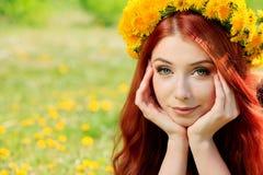 Natürliches Haar Stockfoto