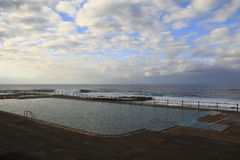 Natürliches Pool Stockbilder