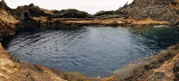 Natürliches Salz-Wasserpool Stockbild