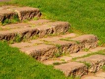 Natürliches Treppenhaus Stockfoto