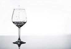 Nat glas Royalty-vrije Stock Afbeelding