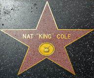 Nat King Cole Fotos de Stock