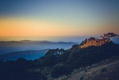 Nat Ma Taung Mt Wiktoria podbródka stan Obraz Royalty Free