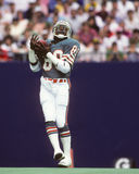 Nat Moore. Miami Dolphins WR Nat Moore. (image taken from color slide Royalty Free Stock Photos