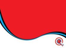 nat oss wave stock illustrationer