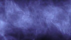 Nat?rliche farbige bunte k?hle Kunst der symmetrischen des Animationshintergrundes der Rauchwolken-Turbulenz abstrakten Qualit?t  stock footage