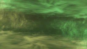Nat?rliche farbige bunte k?hle Kunst der symmetrischen des Animationshintergrundes der Rauchwolken-Turbulenz abstrakten Qualit?t  lizenzfreie abbildung