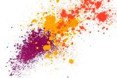 Nat?rliches farbiges Pigmentpulver lizenzfreie stockfotografie