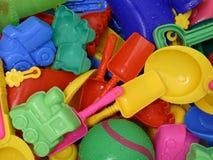 Nat Speelgoed Stock Foto's