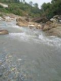 Natação da água aberta Fotografia de Stock Royalty Free