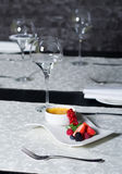 Nata queimada - sobremesa deliciosa Imagem de Stock Royalty Free