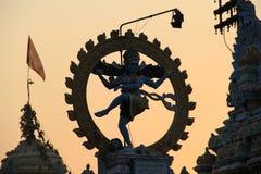 Nata Raju swamy. Hindu God Nata Raju, temple stock photo