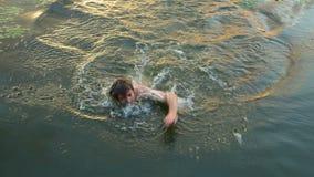natación Imagen de archivo