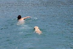 natación Fotografía de archivo