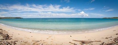 Natadaloa Beach, Fiji. Fisheye shot of Natadaloa Beach, in Viti Levu island, Fiji Stock Photography