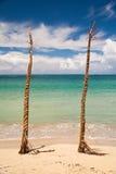 Natadaloa Strand, Fidschi Lizenzfreie Stockbilder