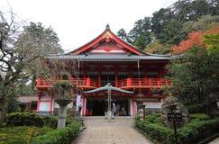 Nataderatempel Kanazawa Japan stock afbeelding