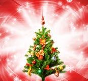 Natal-árvore Foto de Stock