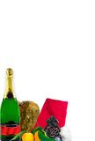 Natal/anos novos do cartão/menu Imagem de Stock