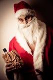 Natal assustador alegre Imagem de Stock Royalty Free