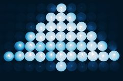 Natal azul imagens de stock royalty free