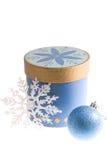 Natal azul Imagem de Stock Royalty Free