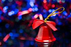 Natal Bell Imagem de Stock Royalty Free