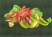 Natal Bels pintado Imagens de Stock Royalty Free