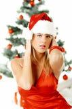 Natal bonito 1 Imagens de Stock Royalty Free