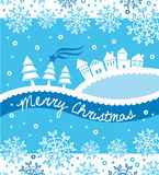 Natal branco ilustração stock