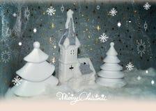 Natal branco Fotografia de Stock