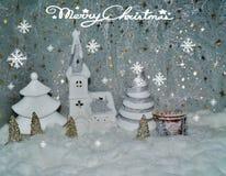 Natal branco Imagens de Stock