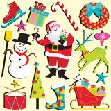 Natal Clipart ilustração stock