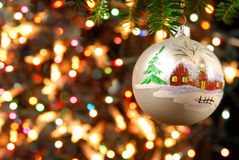 Natal com a árvore de Natal Imagem de Stock Royalty Free