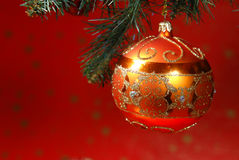 Natal com a árvore de Natal Foto de Stock Royalty Free