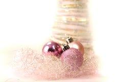 Natal cor-de-rosa Foto de Stock