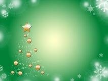 Natal da árvore ilustração stock