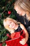 Natal da família Foto de Stock