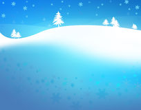 Natal da neve do fundo Foto de Stock Royalty Free