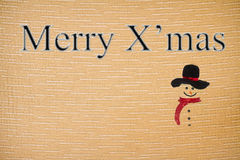 Natal da tela dos caráteres da sutura Imagens de Stock Royalty Free