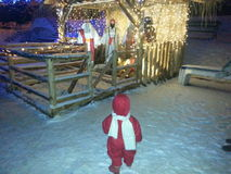 Natal das crianças Fotografia de Stock