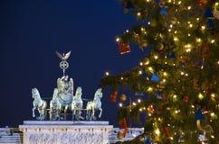 Natal de Berlim Fotos de Stock Royalty Free